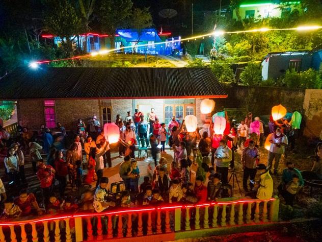 d530d475 274c 4691 8642 b47c2f57b716 - BPODT Resmikan Kampung Wisata Warna Warni Tigarihit, Prapat